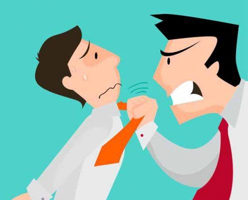 راهکارهای کنترل خشم