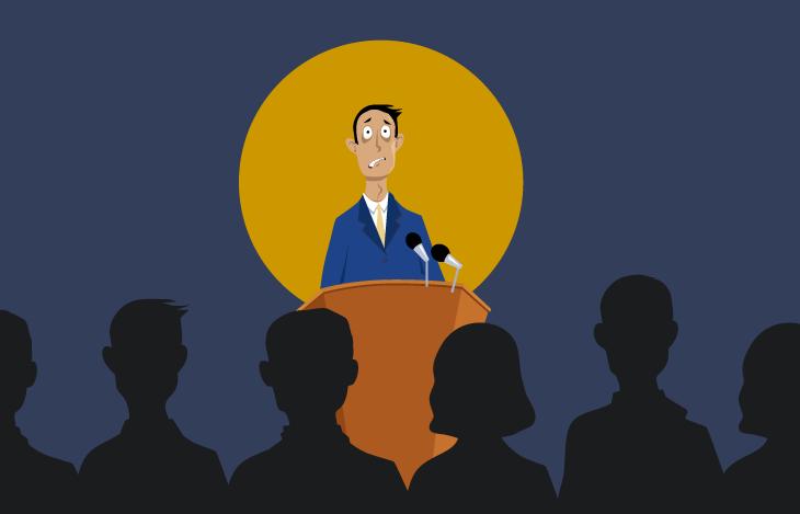 درمان استرس شدید هنگام سخنرانی