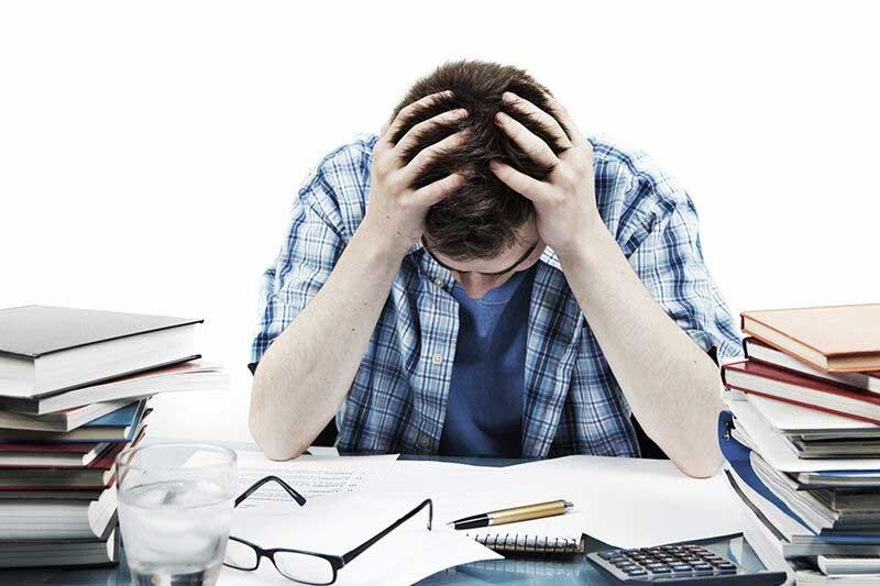 درمان استرس شدید در مردان
