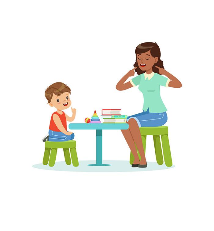 آموزش گفتار درمانی