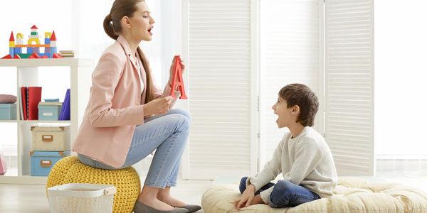 گفتار درمانی در کودکان